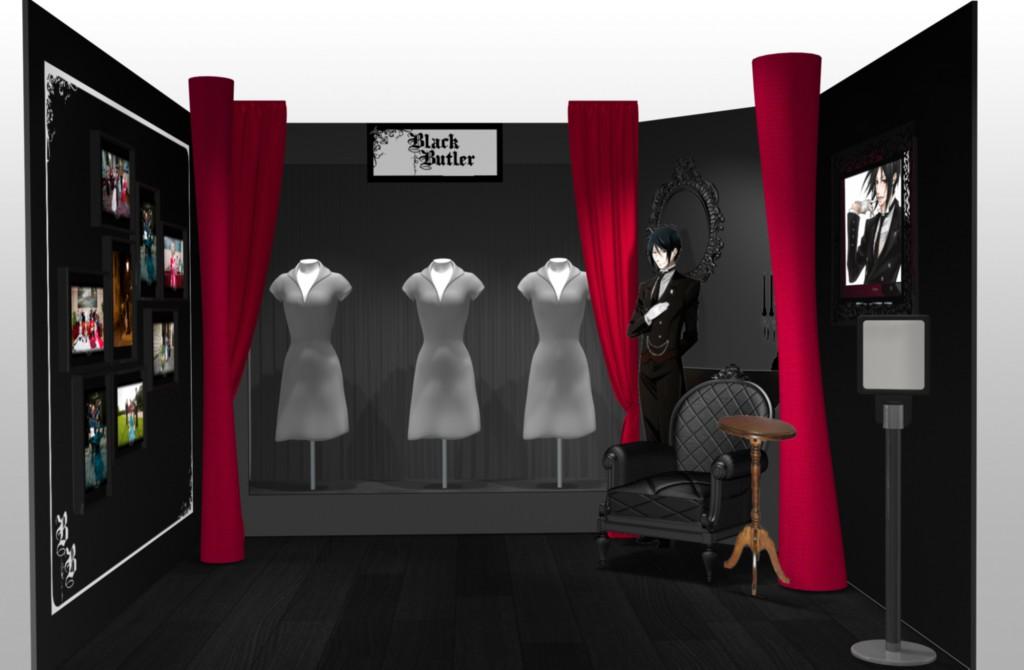 Black Butler - Stand 3D