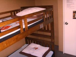 notre chambre au Anne Hostel
