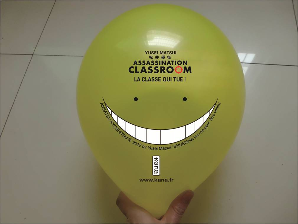 Ballon Assassination Classroom