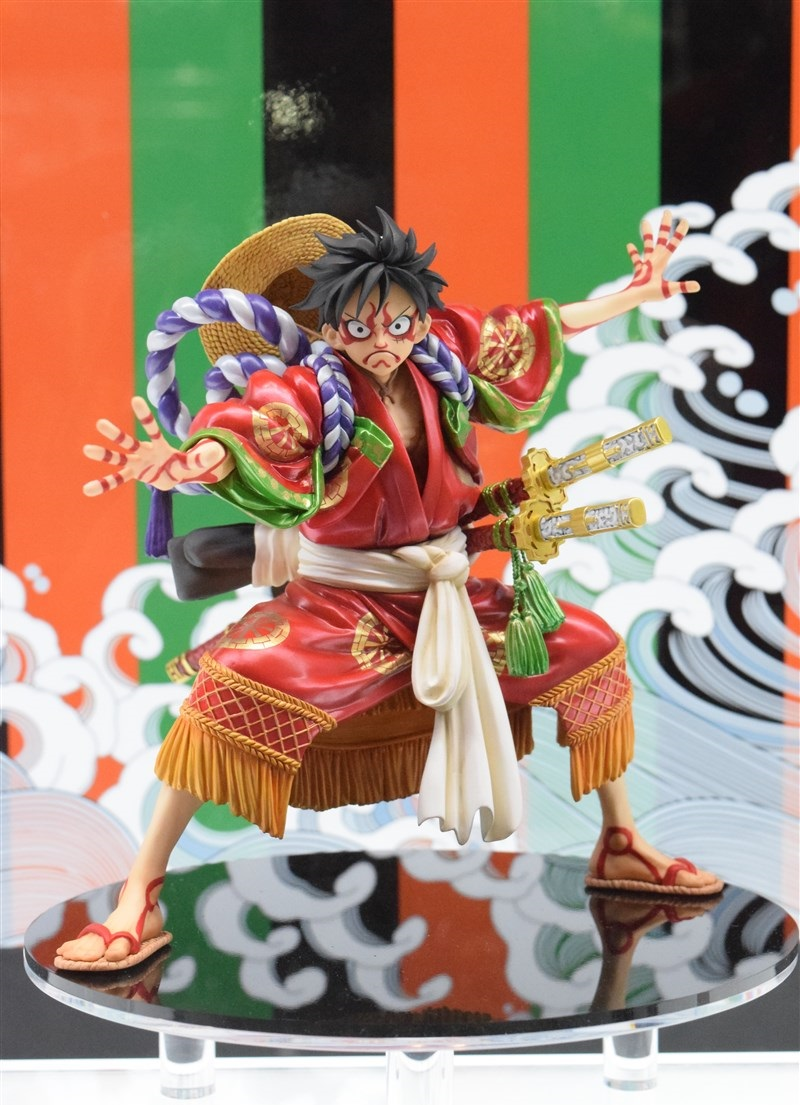 One Piece P.O.P. Monkey D. Luffy KABUKI-EDITION - Jump Festa 2016 (7)