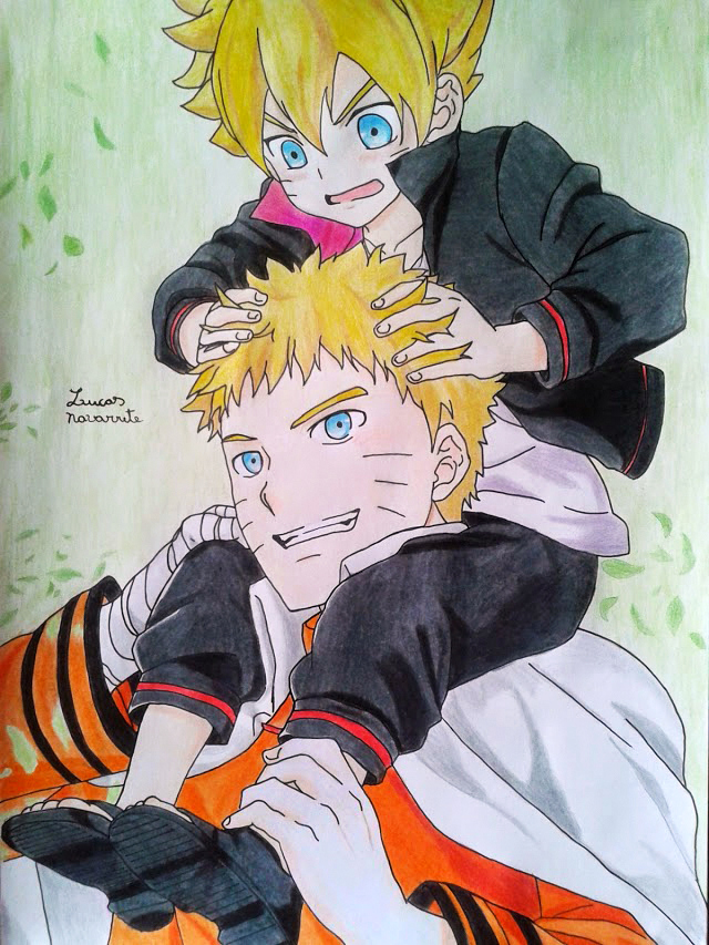 father_and_son_naruto_and_boruto__by_lucasnava-d8et9a1
