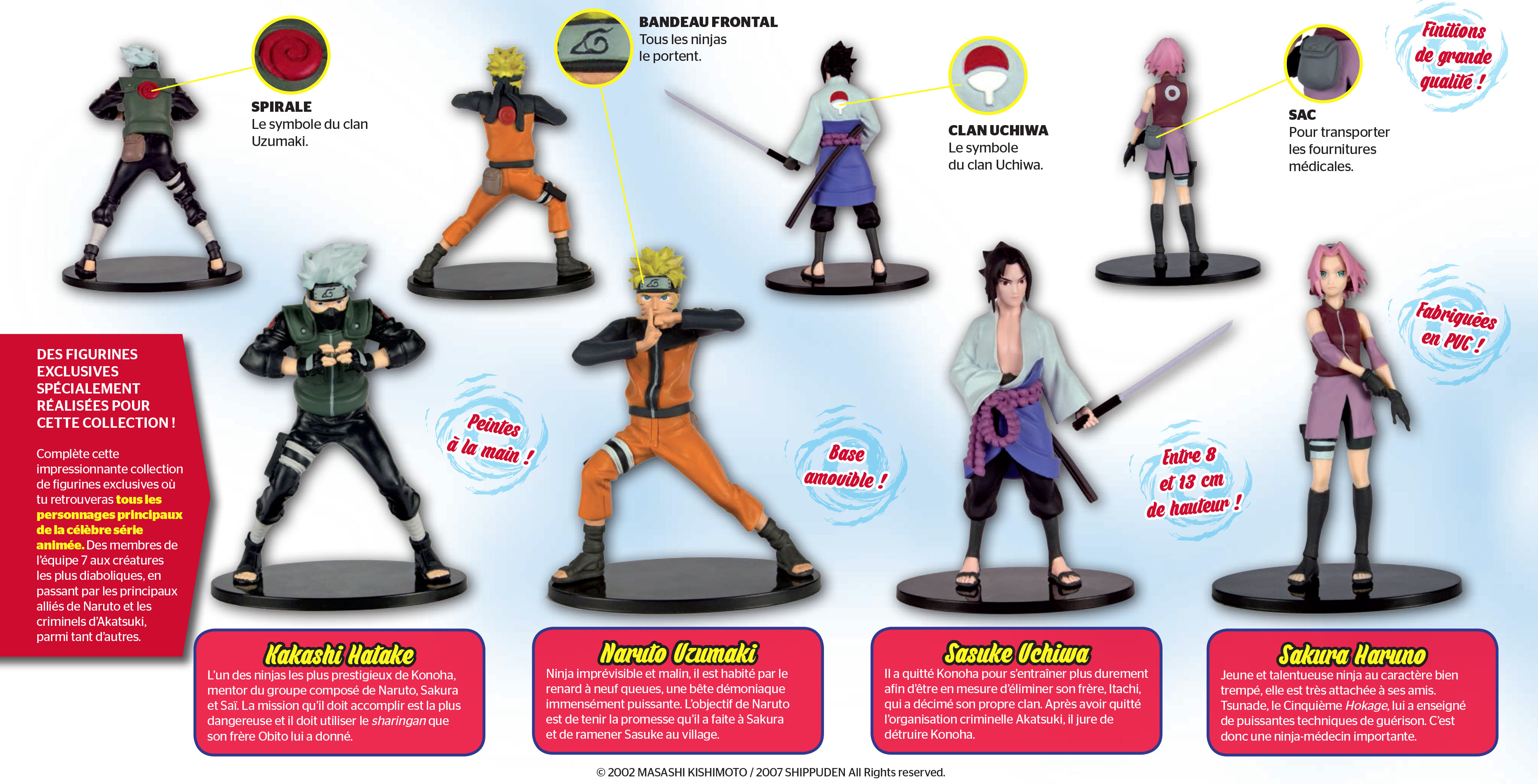 Collection de figurines naruto chez altaya kana for Naruto coleccion altaya