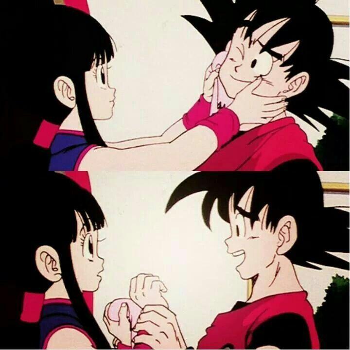 Goku&Chi-chi -