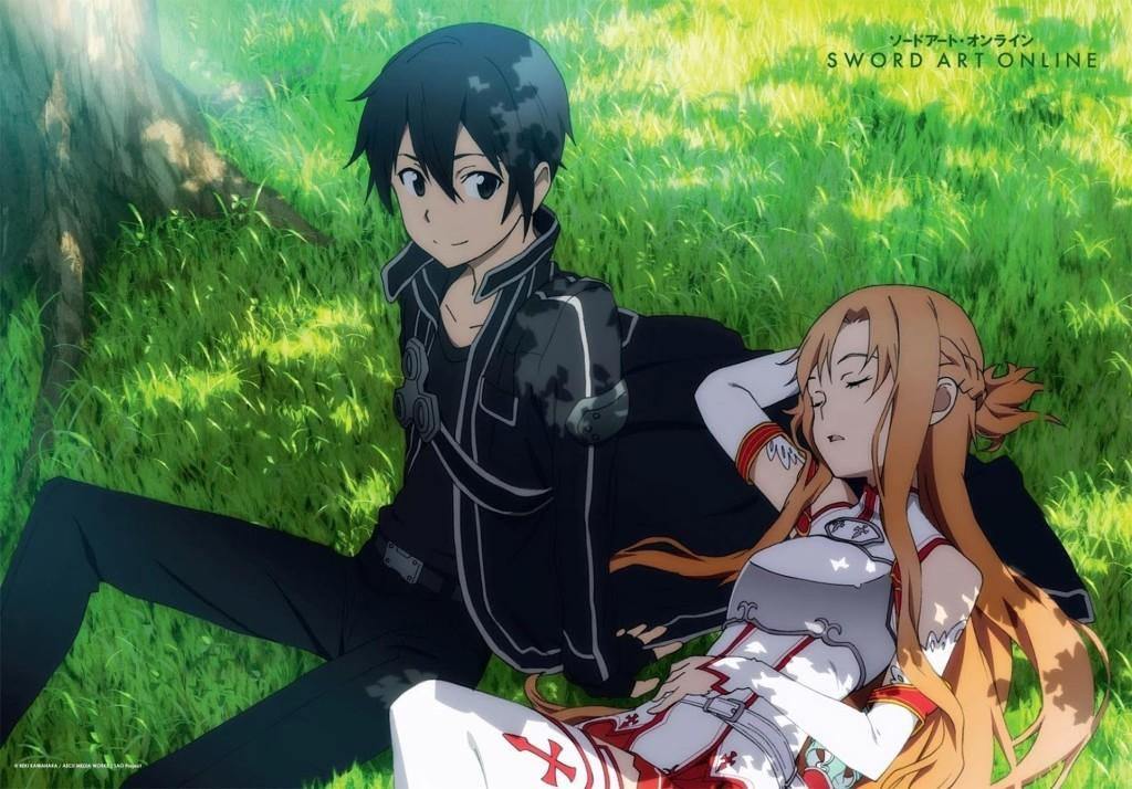 sword art online-kirito&asuna