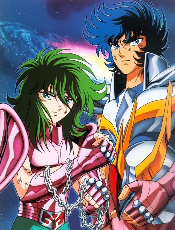 Ikki et Shun Saint Seiya