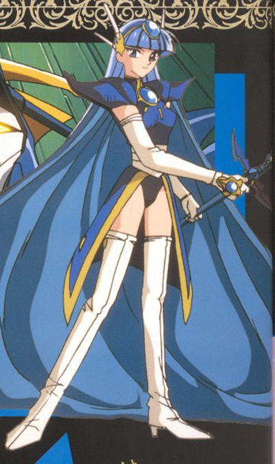 Magic Knight Rayearth Umi kana