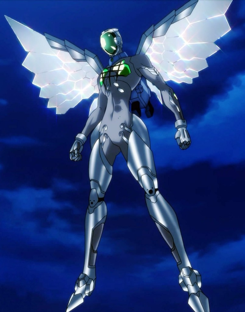 silver crow accel world kana