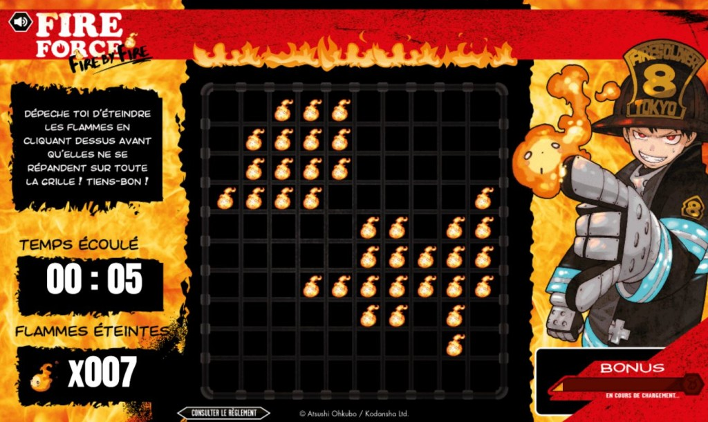 fire force - jeu 1
