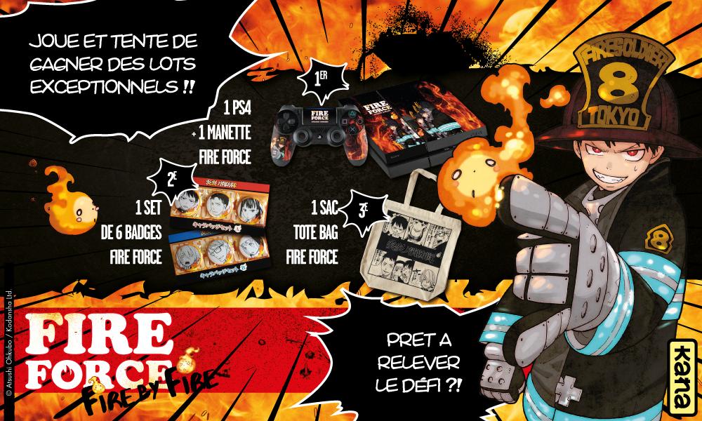 visuel promo - jeu Fire Force