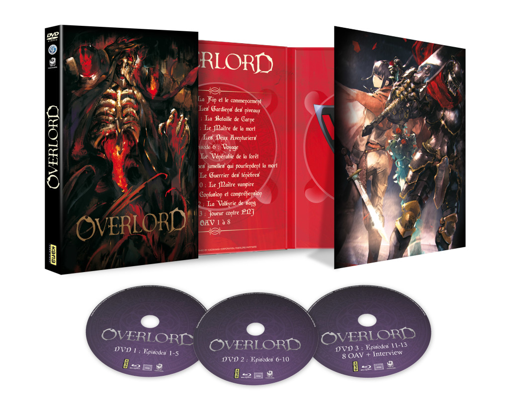 3D OverLord DVD Ouverte