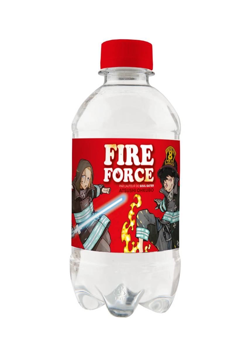 Bouteille d'eau Fire Force