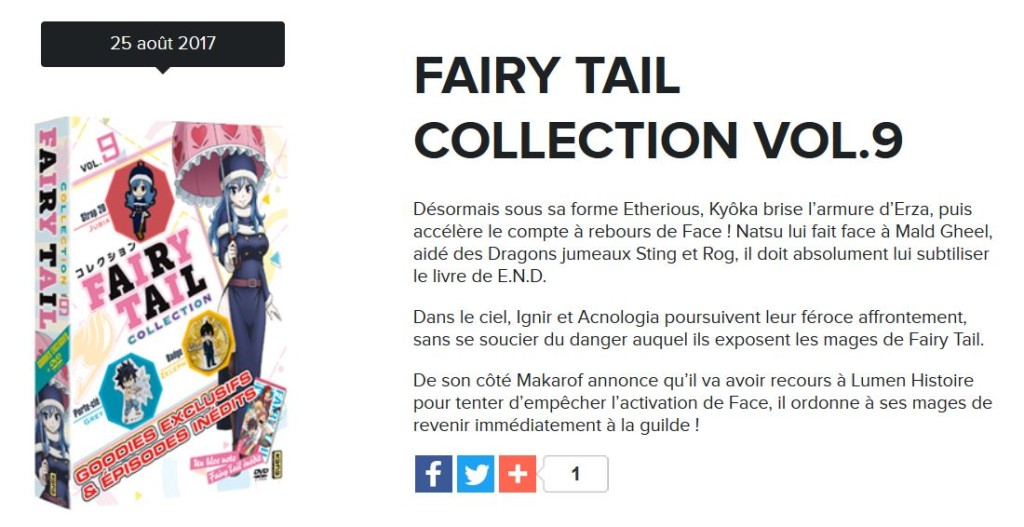 fairy tail collection 9