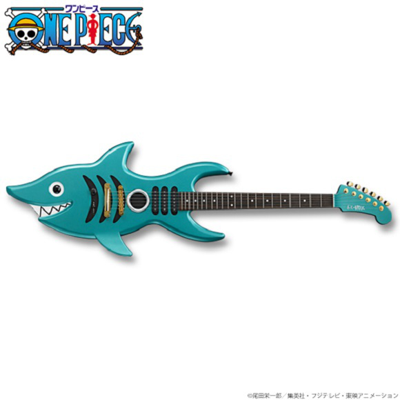 one piece guitare brook figure