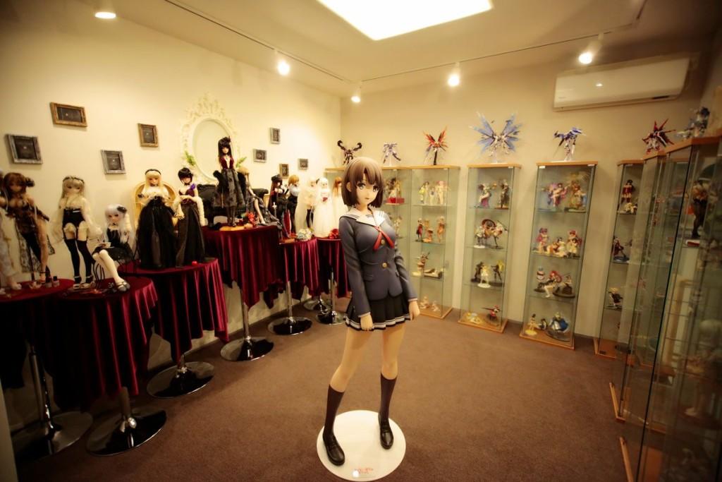 statue taille réelle megumi - blog kana