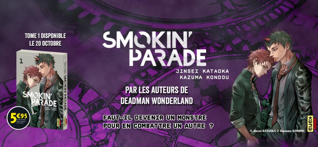 smokin parade banniere kana