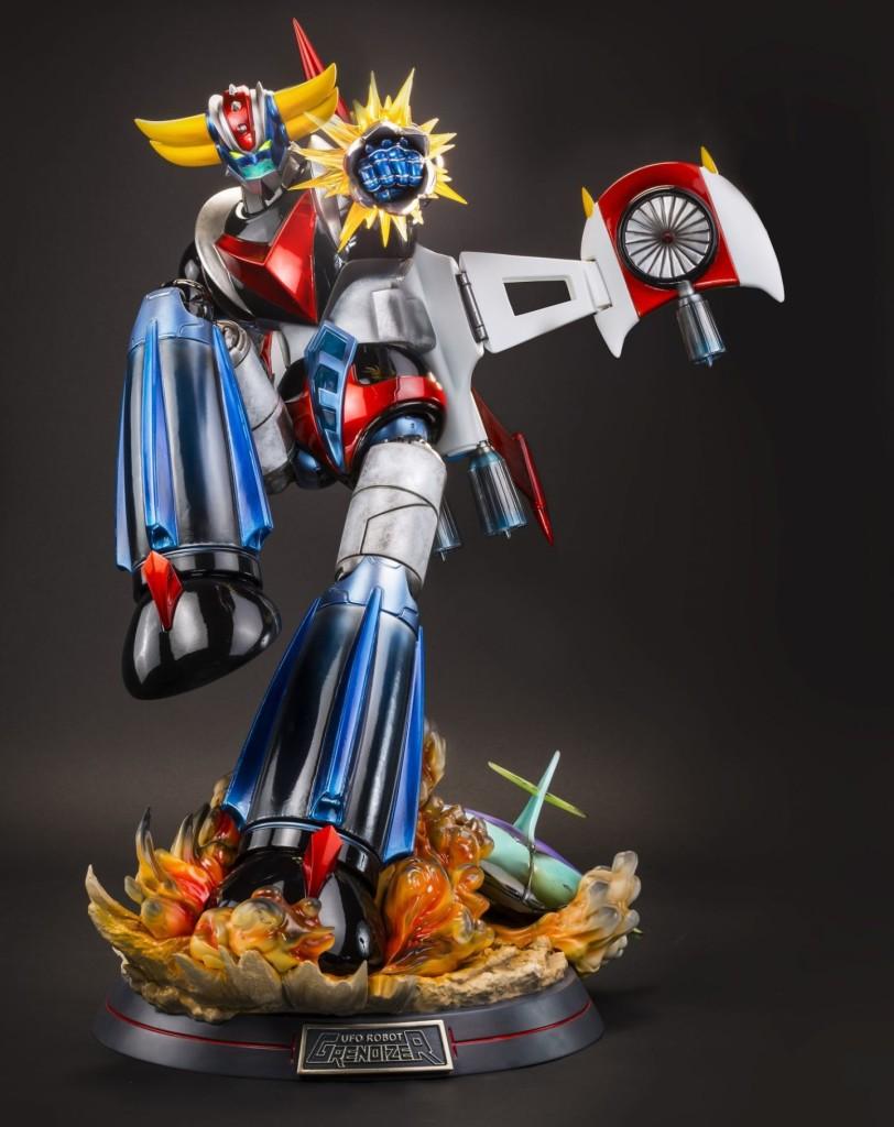 Goldorak blog kana statue tsume