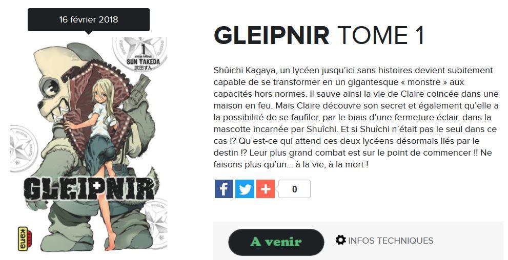 Gleipnir annonce blog kana