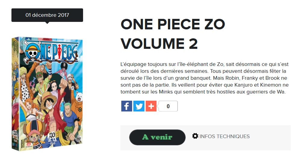 one piece zo vol 2 kana