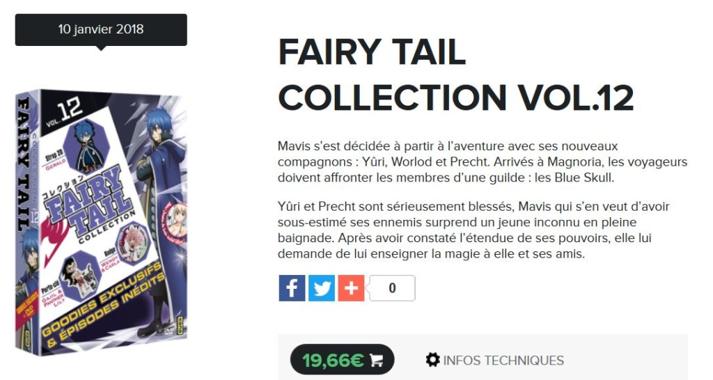 collection fairy tail 12